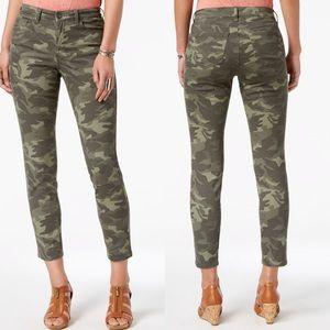 STYLE & CO Skinny Camo Print Jeans